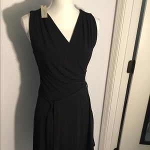 41 Hawthorn black wrap dress (NWT) - S
